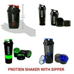 Rangoli Black Protein Shaker Bottle, Capacity: 750, Packaging Type: Box