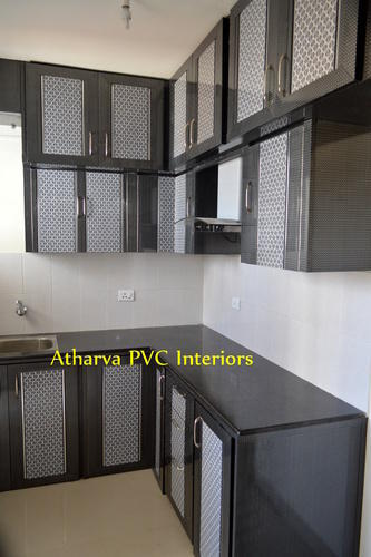 Modern Plastic Pvc Modular Kitchen Cabinets Rs 265 Square Feet Atharva Pvc Interiors Id 13662873712