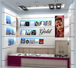 Jewellery Showroom Interior Service