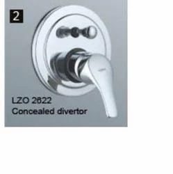 Concealed Brass Divertor