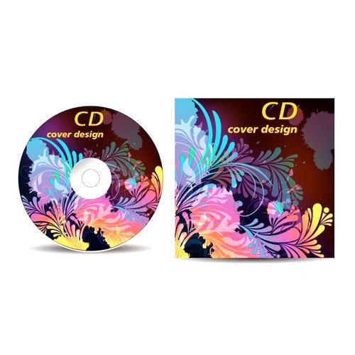 CD Stickers Label Printing Services