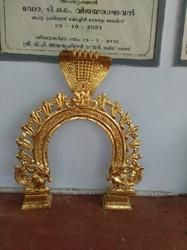 24  Karat Pure Gold Plated Prabhavali