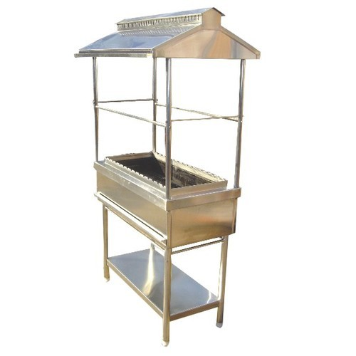 Barbecue Standing L With Canopy
