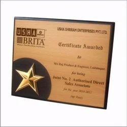 Customized Wooden Award