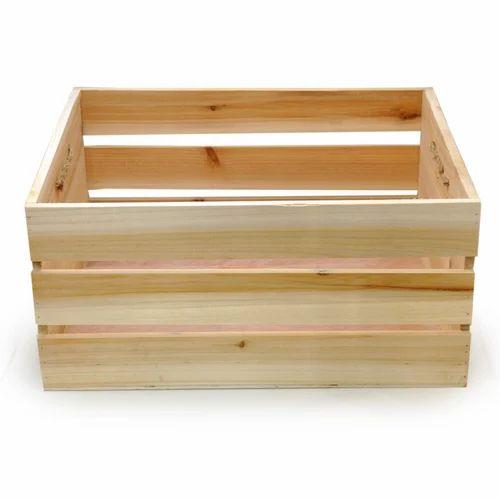 Industrial Wooden Storage Box  sc 1 st  IndiaMART & Industrial Wooden Storage Box   Sirmour Timber   Manufacturer in ...