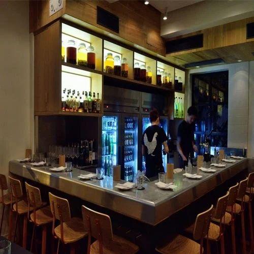 Bar Display Counter Manufacturer From Mumbai