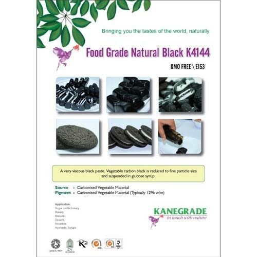 Vegetable Carbon Black Food Color - Kanegrade Flavours & Ingredients ...