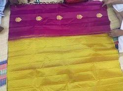 Patola Silk Real Zari Gold Silk Saree