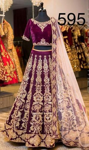 4dd34ed33f Party Wear And Festive Wear Chanderi , Georgette Stylish Wedding Lehenga  Choli