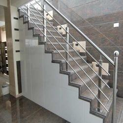 Stainless Steel Modern Staircase railling, For Home