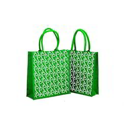 Designer Printed Jute Bag