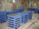 Plastic Rearing Sericulture Tray Crate