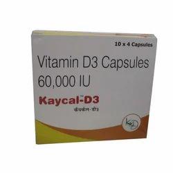 Vitamin D3 60000 IU Capsules