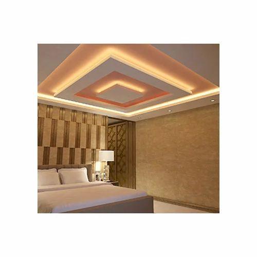 Plaster of Paris Ceiling Designer False Ceiling, Rs 35 ...