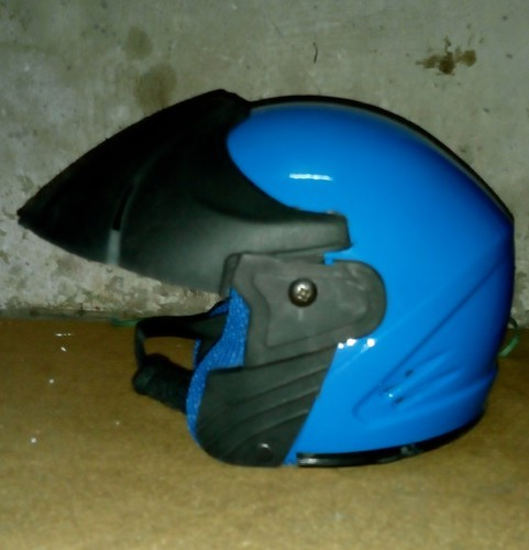 Kids Plastic And Fibre Baby Half Face Helmet For , Safety And Driving