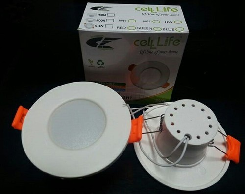 Cell Life LED Deep Light, Shape: Round