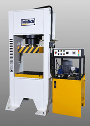 Close Frame Hydraulic Press Machine