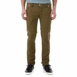 Mens Cotton Casual Trouser