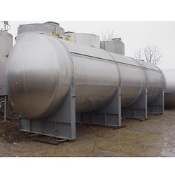 Stainless Steel Horizontal Chemical Storage Tank
