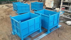 Foldable Steel Pallets