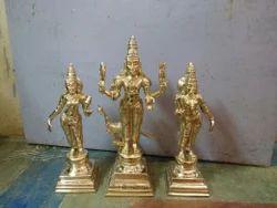 Panchaloha Lord Murugan Valli Deivanai