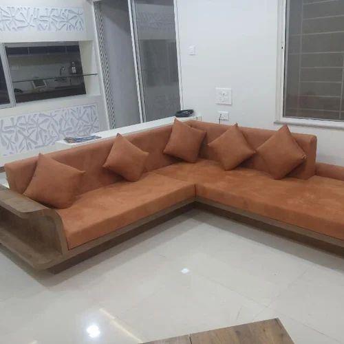 L Shape Designer Sofa Set At Rs 36000 Piece Designer Sofa