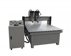 Double Head CNC Wood Working Router
