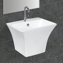 Wall Mounted Single PC Wash Basin