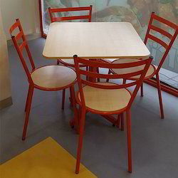 cafeteria chair table