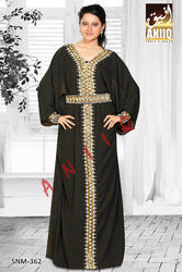 Saudi Arabian Party Wear Evening Gown 362