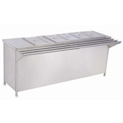 Canteen Bain Marie With Service Rail
