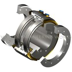 Pneumatic Toothed Clutch-Clutch Combination Unit