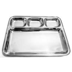 Stainless Steel Dinner Plate SS Dinner Plate Stainless Steel Food Plate - Rathnakumar Metal Chennai | ID 13597230833  sc 1 st  IndiaMART : metal dinner plates - pezcame.com