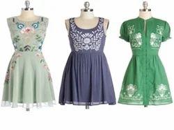 Embroidered Sleeveless Tunics