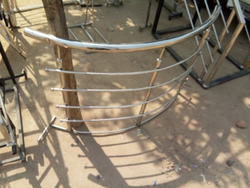 Steel Railing Round Shape