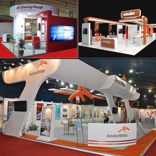 Exhibition Stall Design And Fabrication : Exhibition stall design and fabrication in malad west