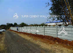 Concrete Folding Ready Made Boundary Wall Compound