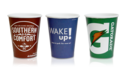 Logo Printed Paper Cup For Event And Parties Supplies