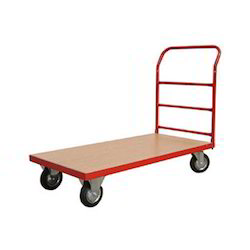 Platform Trolley With Castor Wheels