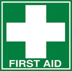 First Aid Safety Signage