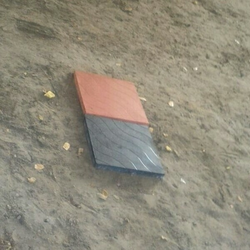 Black And Red Tiles