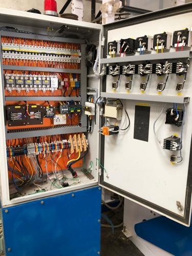 JP ENGINEERING Grey Extruder Machine Control Panel, Digit Display Size: 48*48 PID Controller's