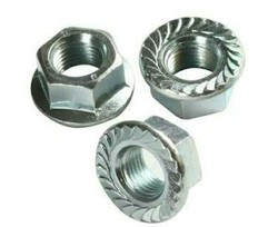 Ms Flange Nut, Size: M3 To M10