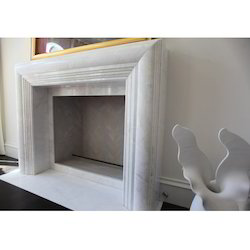 Natural Marble Stone Fireplace