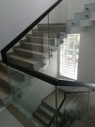Toughened Glass Staircase