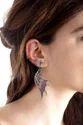 Rhodolite Earring