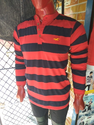 Red and Black T Shirt