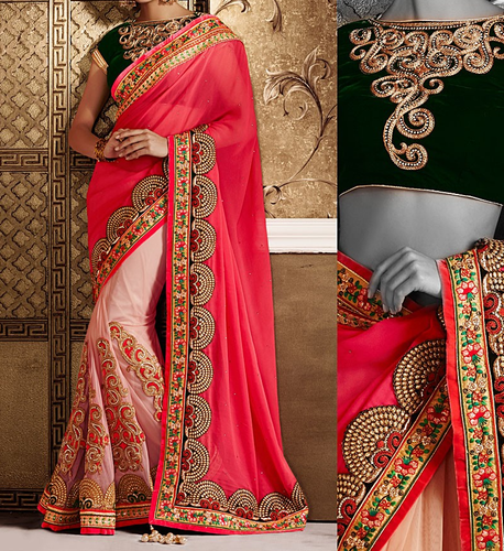 Embroidery Work On Saree In Mumbai Dahisar East By Khushboo