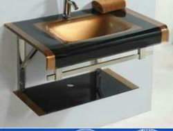 Glass Lip Counter Basin