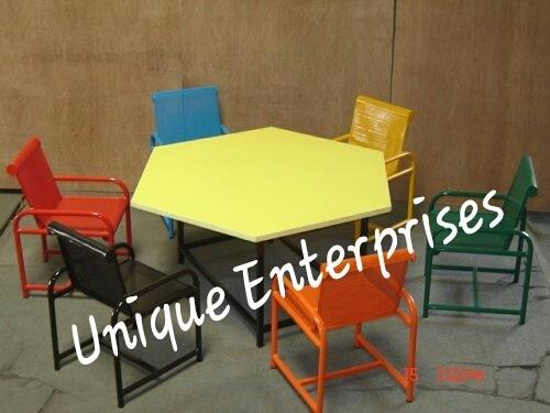 1 Seater Primary School Bench